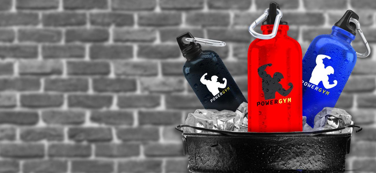 banner-sports-bottles-background
